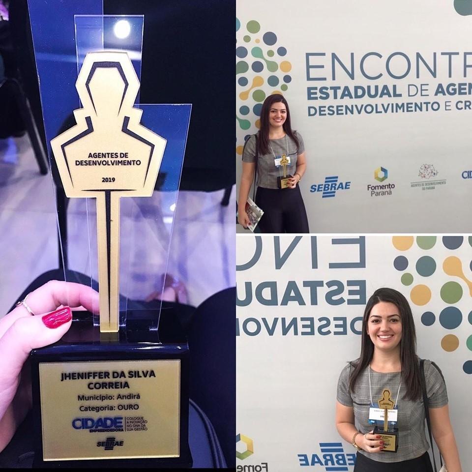 Andirá recebe selo Ouro no Encontro Estadual de Agentes de Desenvolvimento e Crédito
