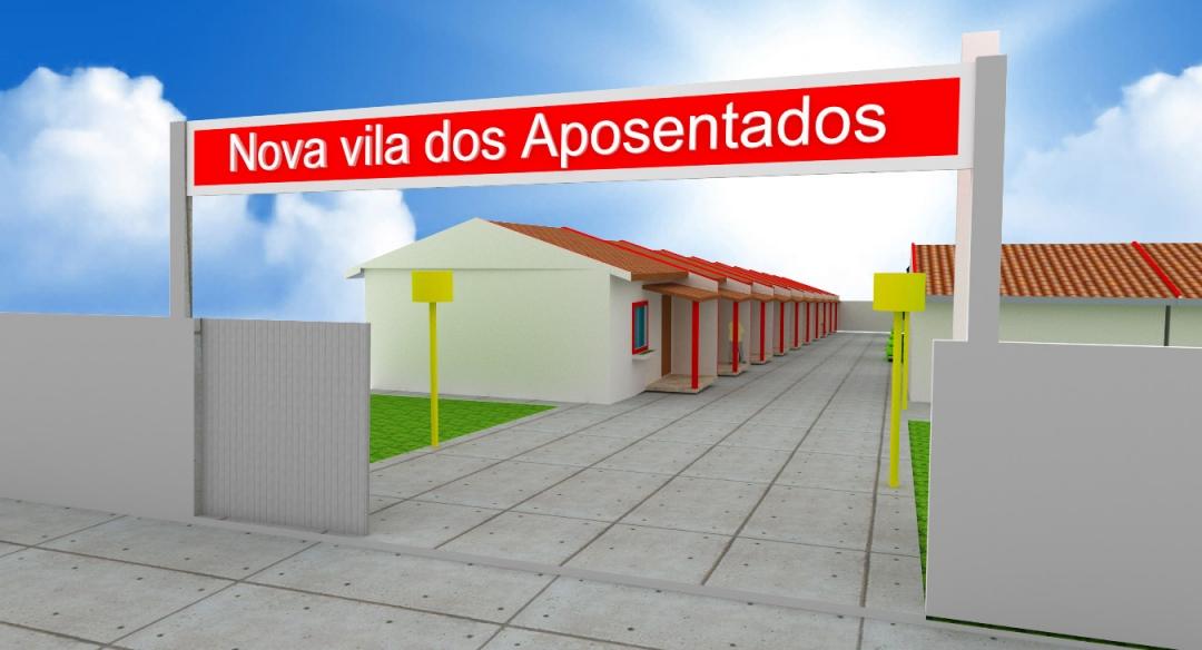 Secretário de Obras conclui projeto da nova República dos Idosos de Andirá