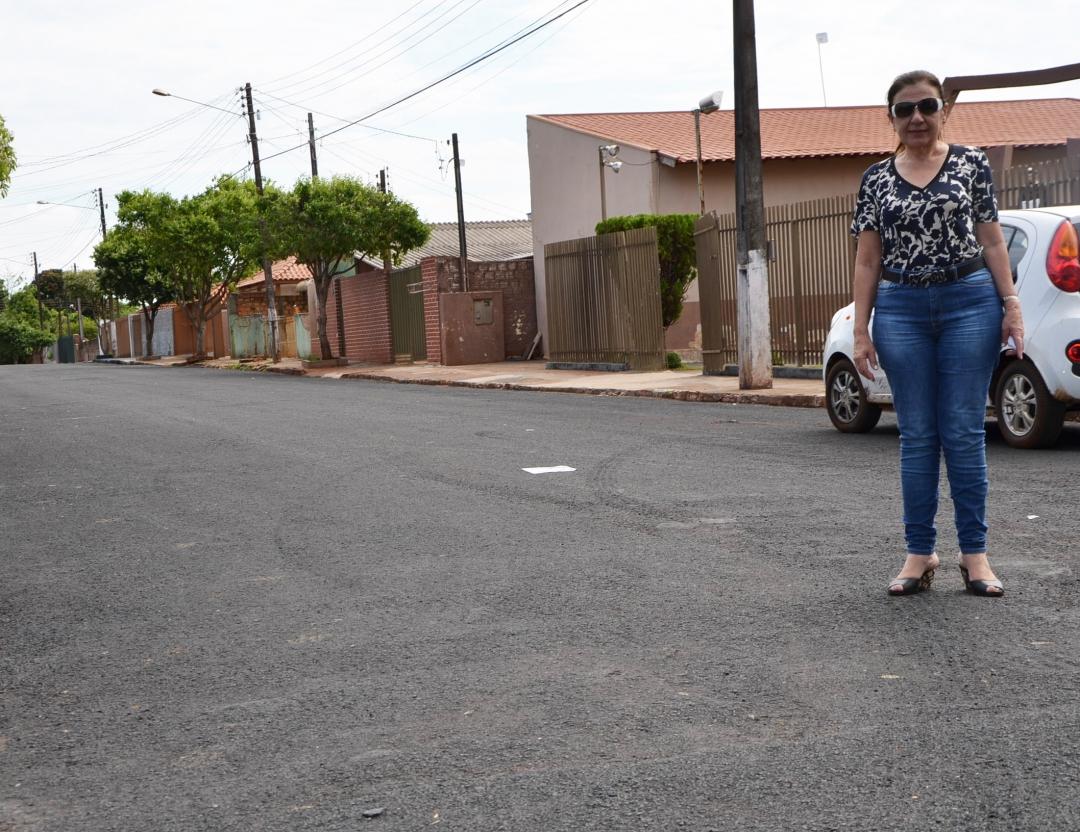 Prefeitura de Andirá recupera mais de 20 ruas e trechos com micropavimentação