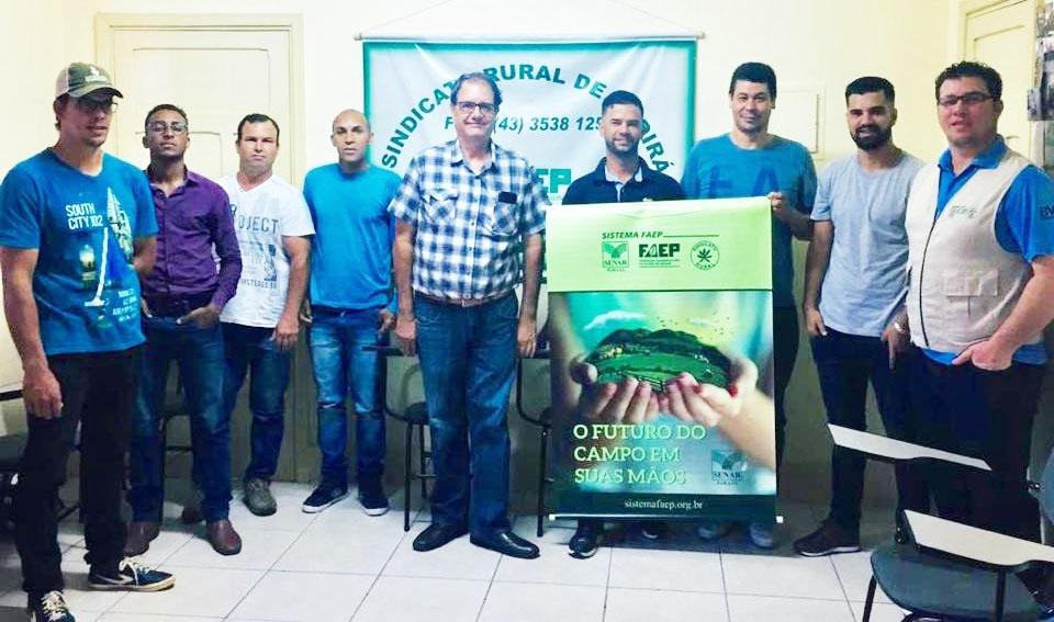 Prefeitura de Andirá, Sindicato Rural e Senar concluem curso, gratuito, de Pá Carregadora.