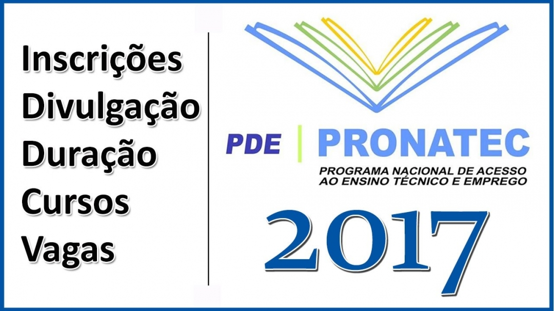 Termina nesta quinta-feira, dia 30, as inscrições do Pronatec. 88 cursos estão disponíveis.