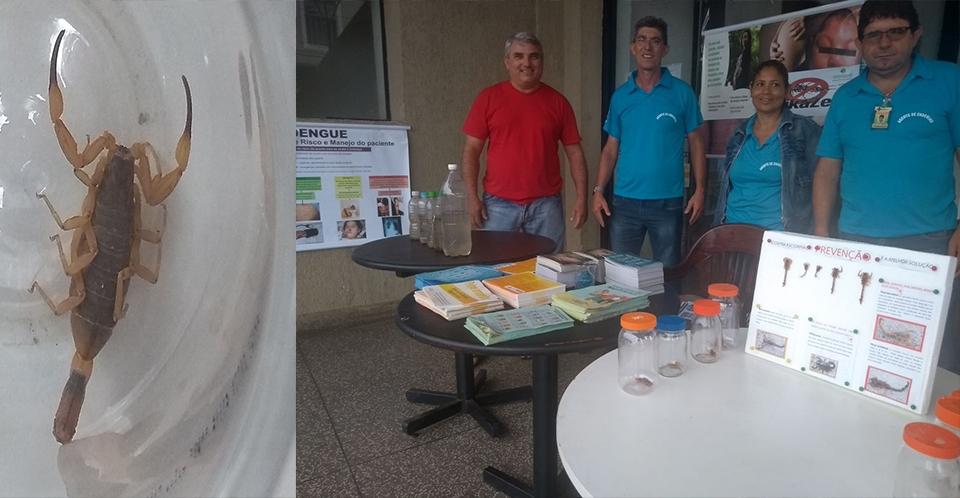 Saúde de Andirá promove mobilização de combate à dengue e ao escorpião