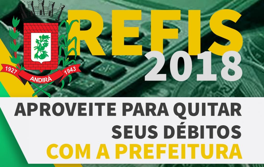 Oportunidade para regularizar seus débitos: REFIS 2018 garante descontos em juros e multas. Confira!