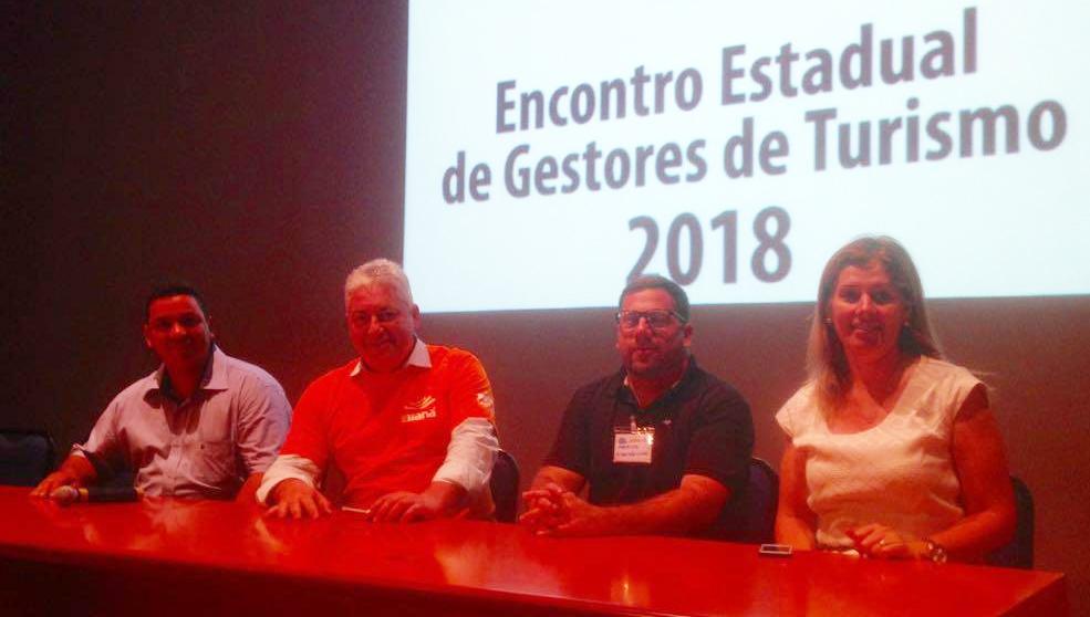 Secretaria de Turismo de Andirá é destacada durante Fórum dos Gestores de Turismo