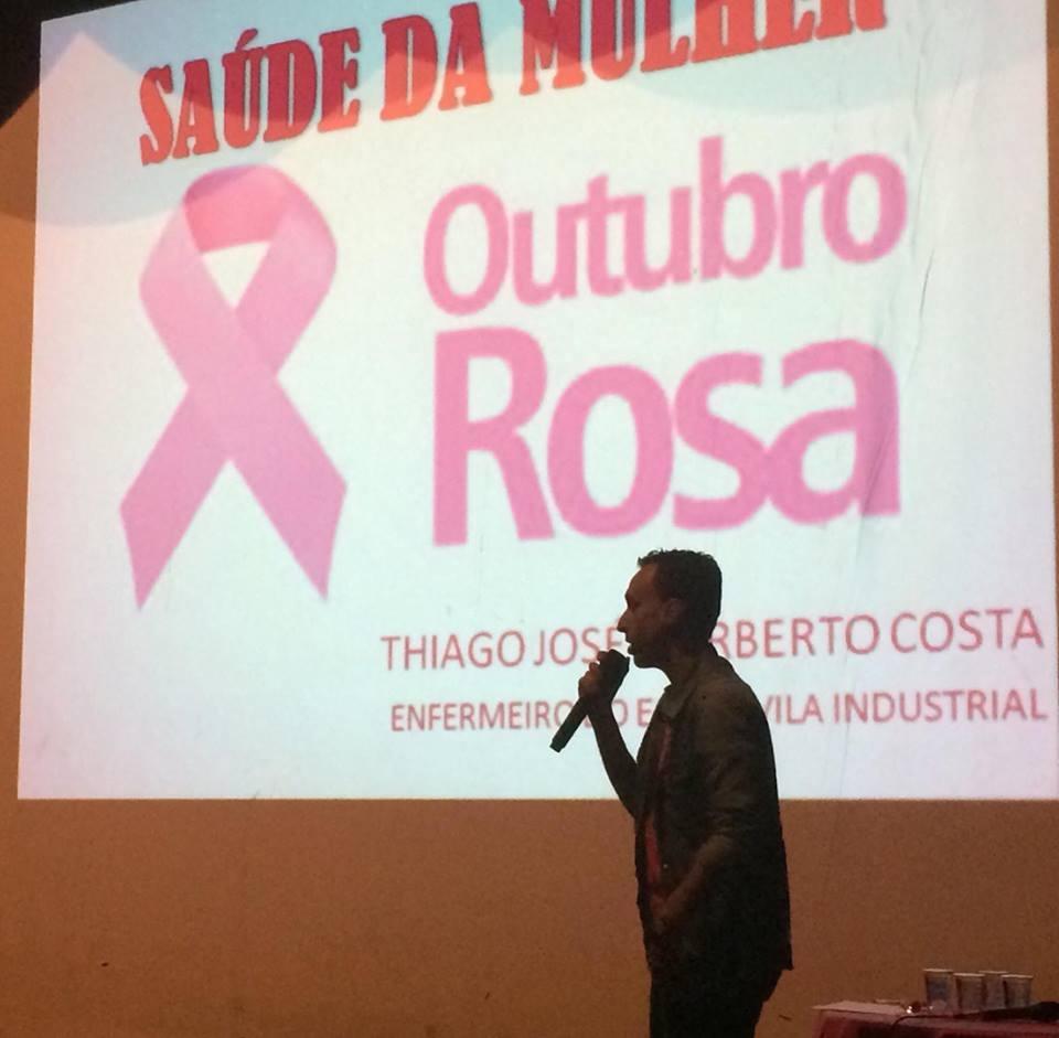 Saúde e Cultura realizam palestra e atividades culturais em alusão ao Outubro Rosa