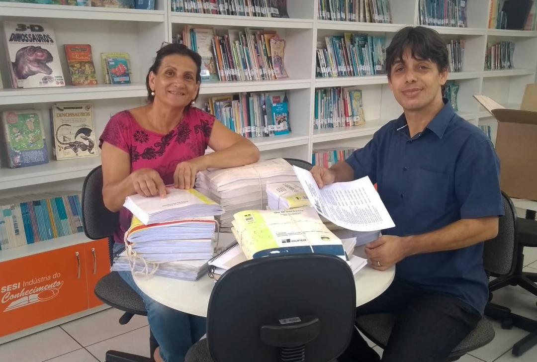Inclusão: Biblioteca de Andirá recebe acervo de obras em braille