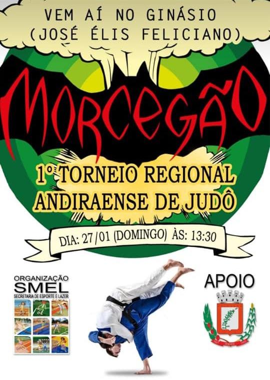 Prefeitura de Andirá realiza, neste domingo, 1º Torneio Regional de Judô
