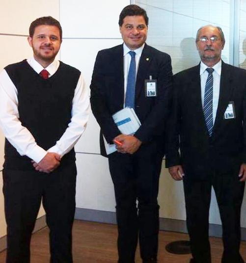 Vice Prefeito, Antônio Carlos, vai à Brasília em busca de emendas para Andirá