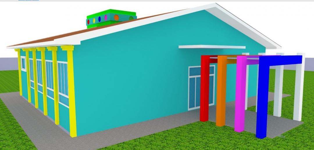 Prefeitura começa construção de duas novas salas de aula no CEMEI da Industrial.