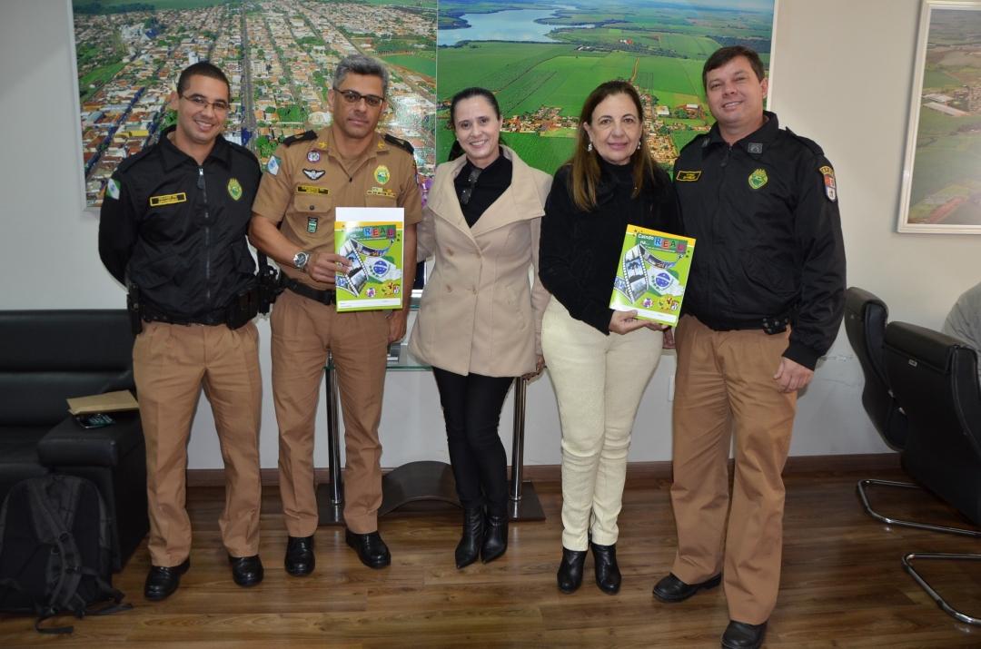 Andirá retoma convênio com programa da Polícia Militar de prevenção às drogas e violência