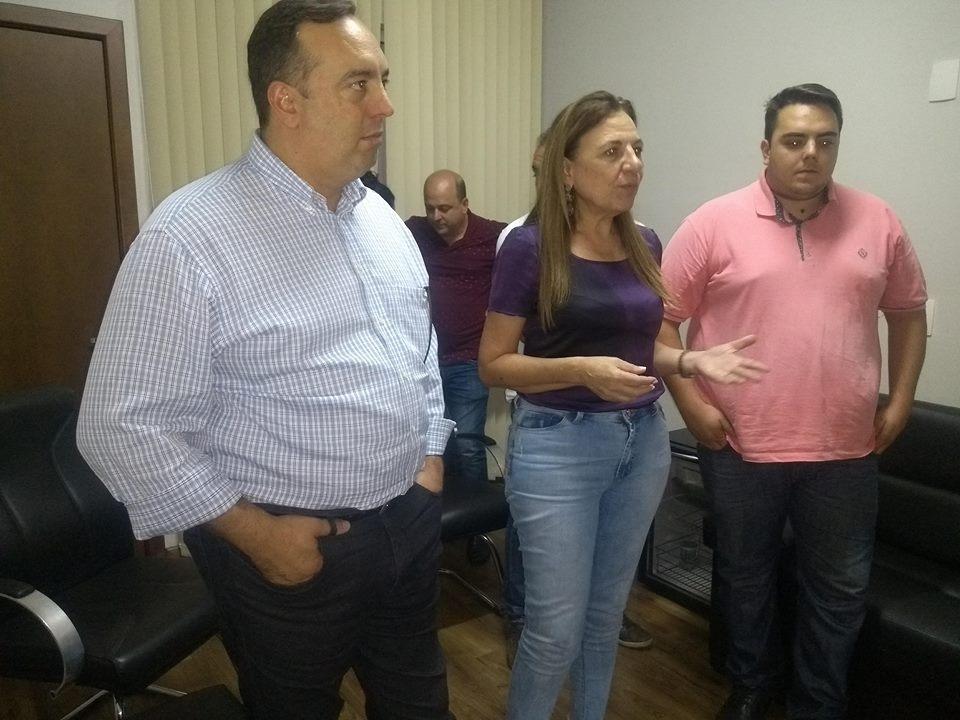 Fernando e Felipe Francischini visitam Andirá e anunciam conquistas para o município