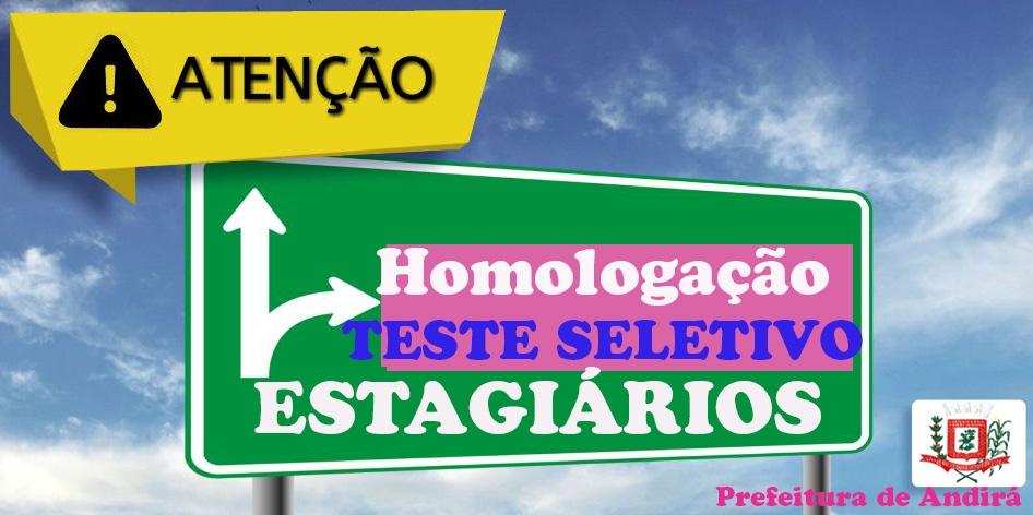 Prova do PSS de estagiário será nesta sexta, dia 03; confira o edital de homologação!