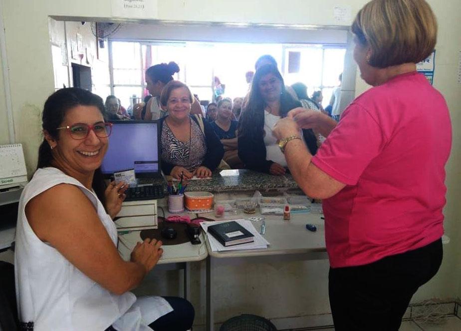 Outubro Rosa: Com grande adesão, Secretaria de Saúde realiza Dia D da campanha