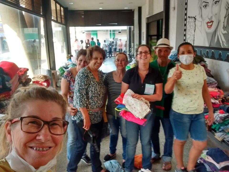 Campanha do Agasalho mobilizou voluntários e contou com a colaboração da população nas arrecadações