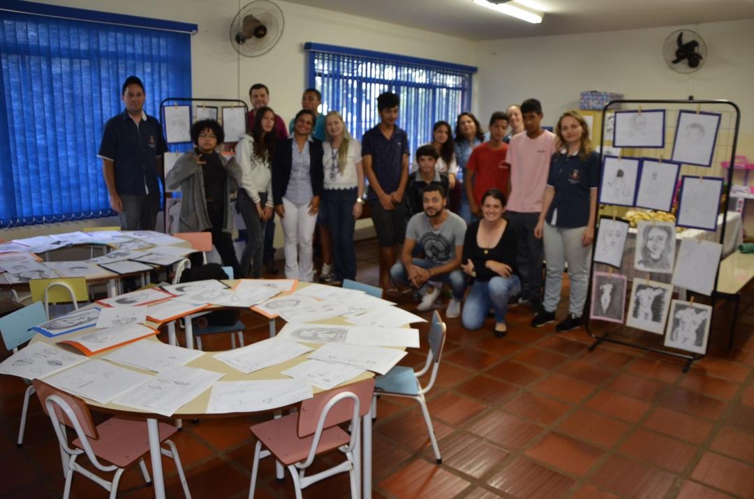 Termina, com sucesso, curso de Desenho Artístico proporcionado pela Prefeitura de Andirá em parceria com o Senac