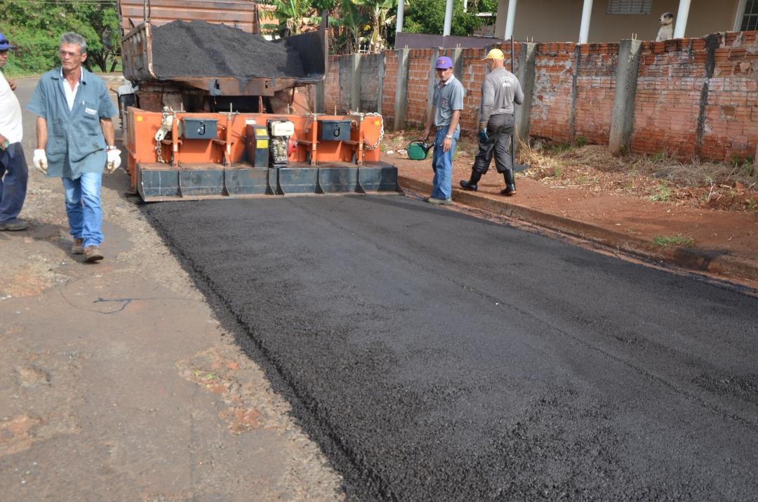 Prefeitura de Andirá intensifica projetos para recuperação de malha viária urbana