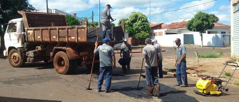 Prefeitura reativa Usina de Asfalto e começa Operação Tapa Buraco