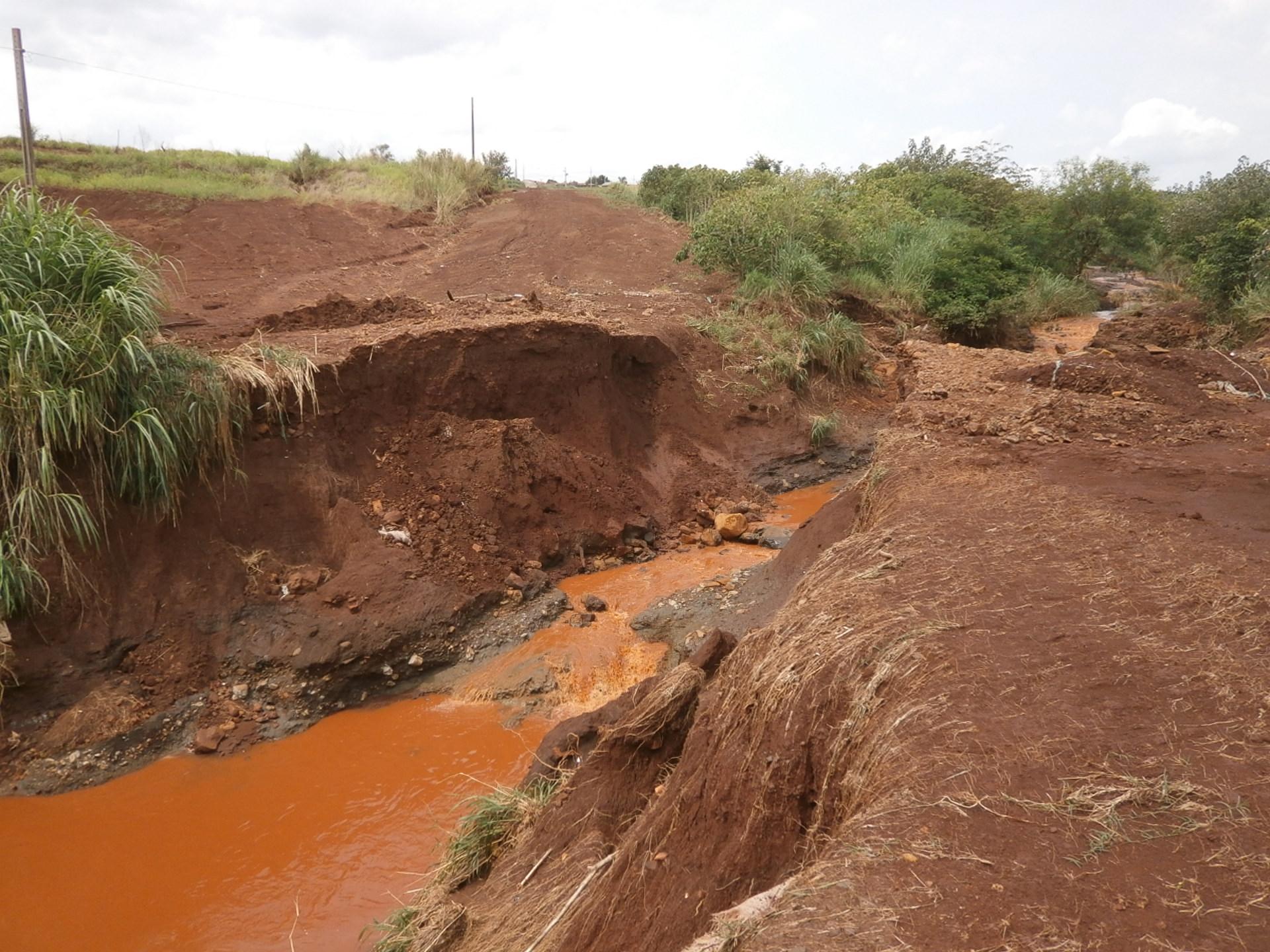 Andirá prepara licitação para reconstrução de três pontes rurais que caíram, com as fortes chuvas