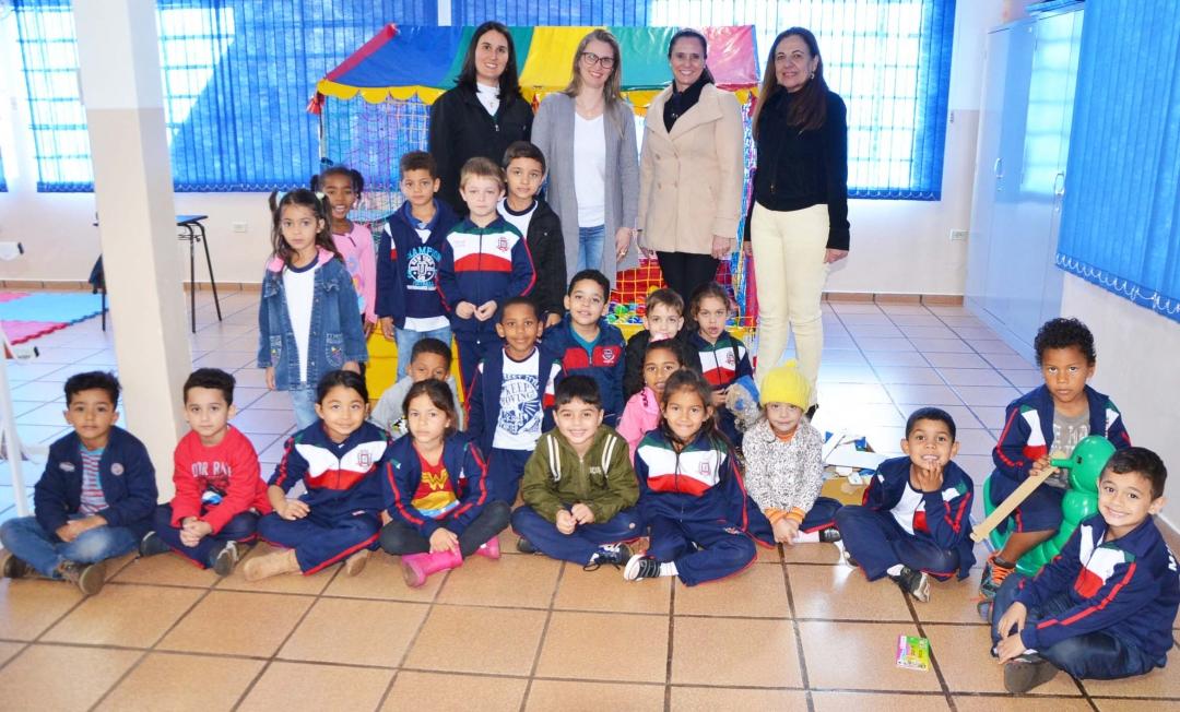 Escola Municipal Santa Inês conta, agora, com brinquedoteca para dinamizar processos de ensino - aprendizagem