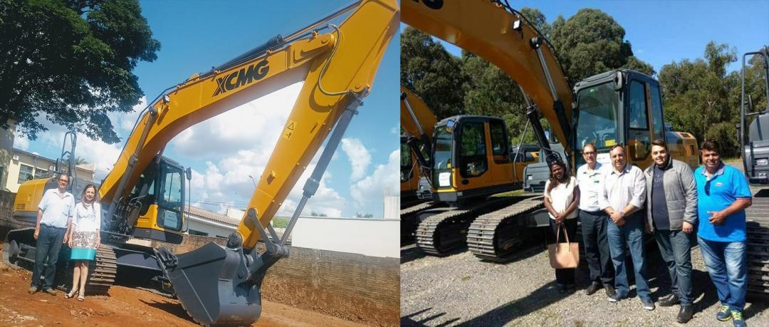 Prefeitura amplia conquistas para Andirá: Nova Máquina irá dinamizar os atendimentos às comunidades rurais.