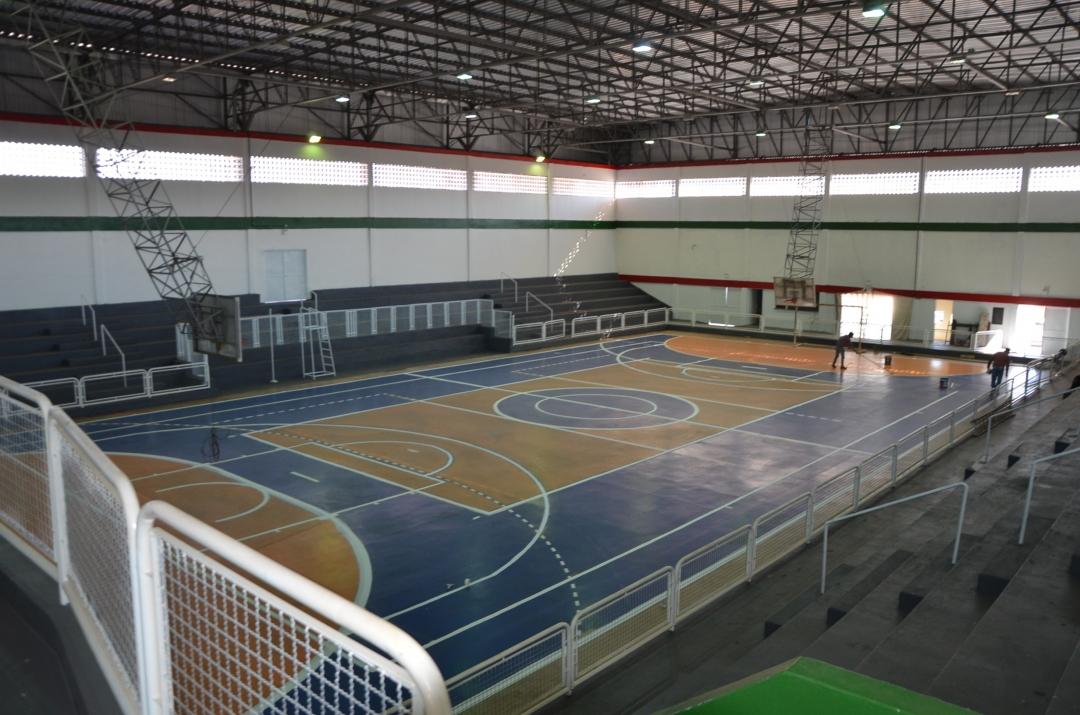 Investimento no Esporte: Falta pouco para que as obras do Ginásio Morcegão sejam concluídas.