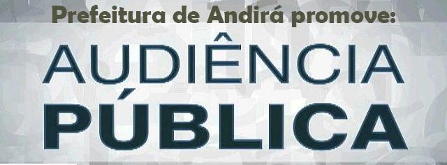 Prefeitura promove, nesta quarta-feira, dia 26, Audiência Pública de avaliação das metas fiscais do 2º Quadrimestre de 2018