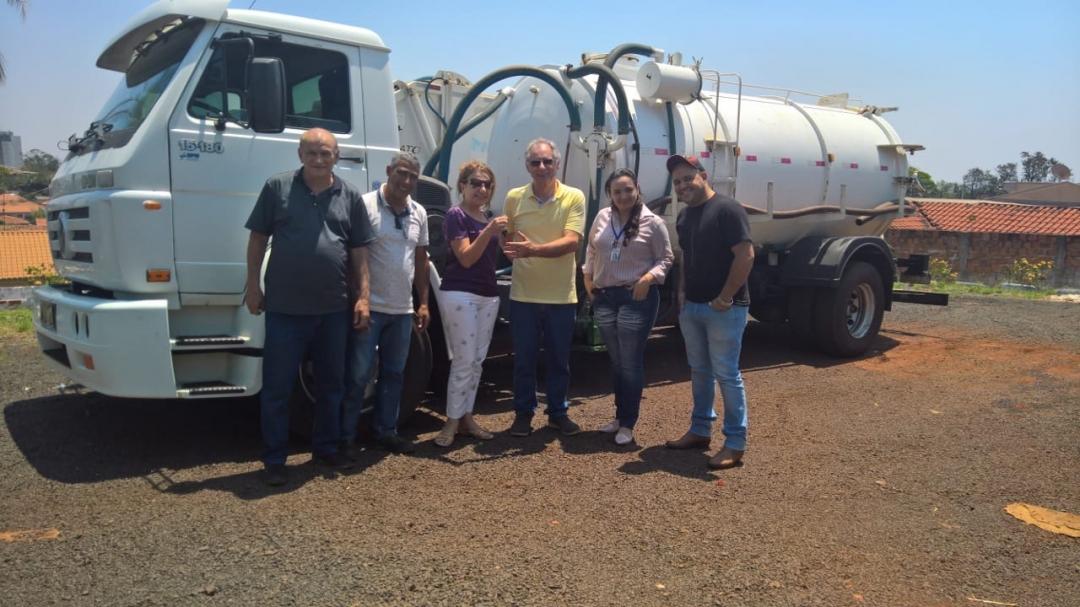 Samae adquire, com recursos próprios, caminhão limpa fossa; aquisição irá gerar economia