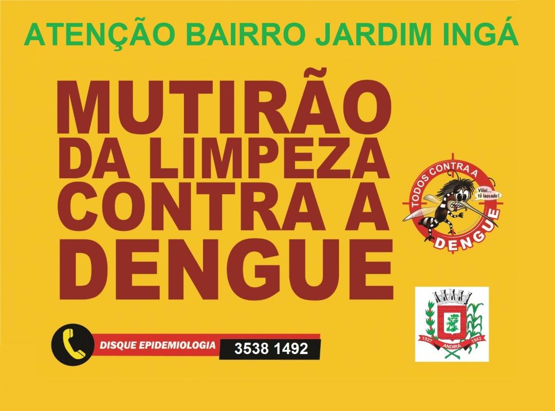 Prefeitura realizará MUTIRÃO DE LIMPEZA E PREVENÇÃO NOS BAIRROS