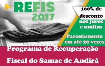 REFIS do SAMAE termina no próximo dia 31; aproveite e quite suas dívidas com 100% de descontos em juros e multas