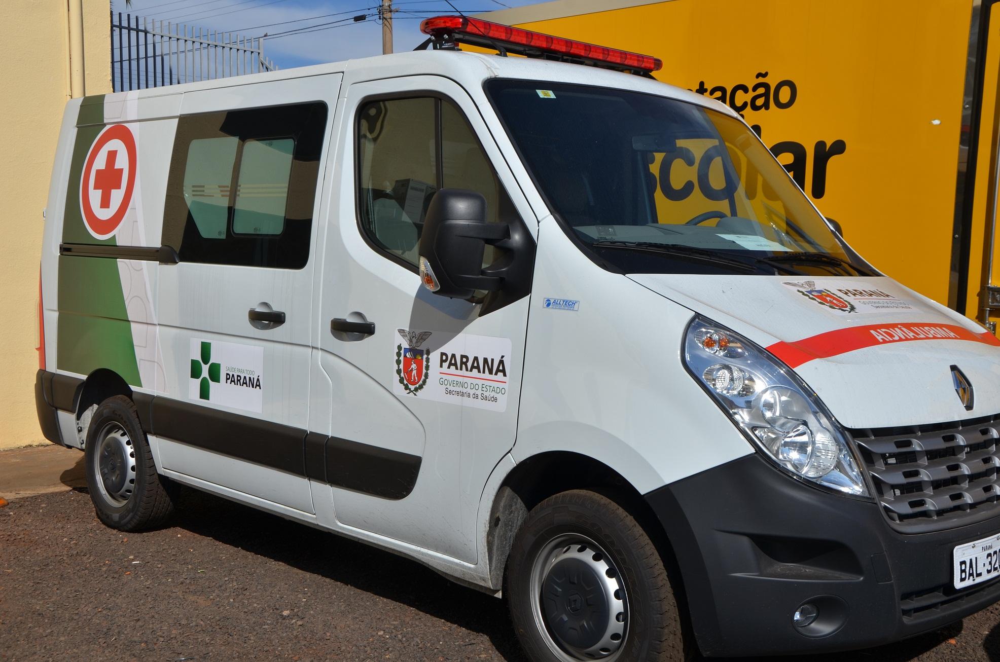 Andirá conquista mais uma ambulância equipada para a Secretaria Municipal de Saúde