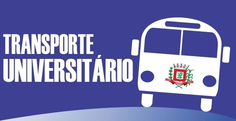 ATENÇÃO ESTUDANTES: Começa nesta quarta-feira, dia 23, o cadastramento para vagas no transporte universitário. Confira o Edital!