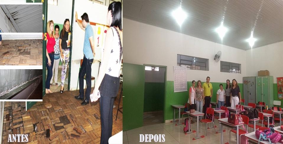 Prefeitura realiza reformas na Escola Municipal Ana Nery
