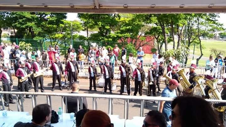 Banda Musical de Andirá é vice campeã no Concurso Paranaense de Bandas e Fanfarras