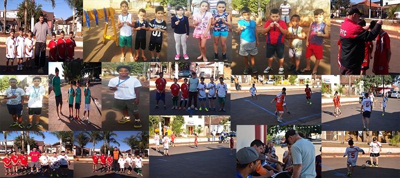 Torneio de Futebol e Corrida de Rua integraram a programação de férias da Secretaria de Esportes de Andirá