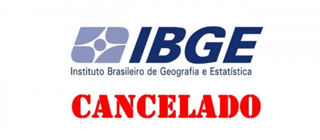 Concurso IBGE é adiado para 2021; taxas pagas serão devolvidas