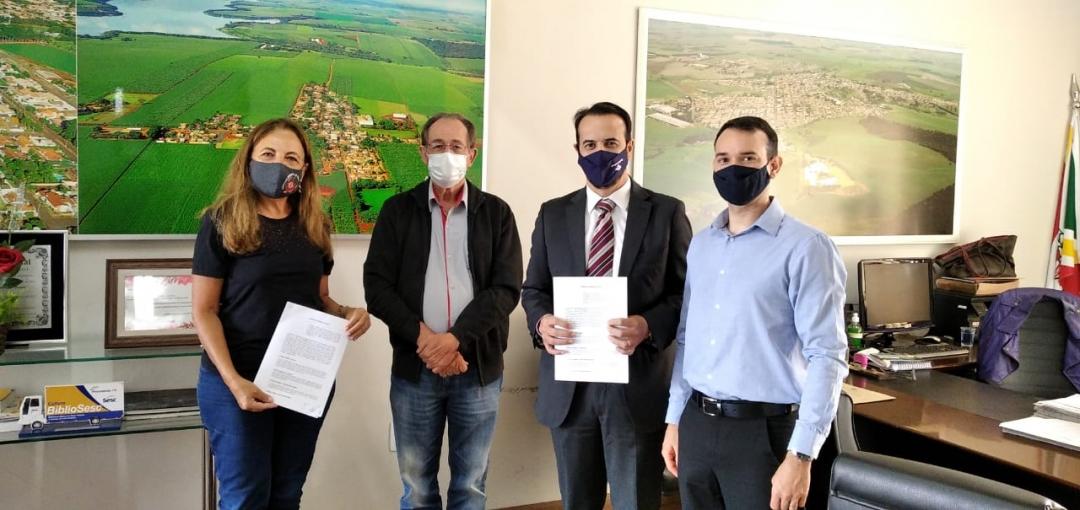 Prefeitura de Andirá e Receita Federal celebram acordo para Ponto de Atendimento Virtual  da Receita Federal em Andirá