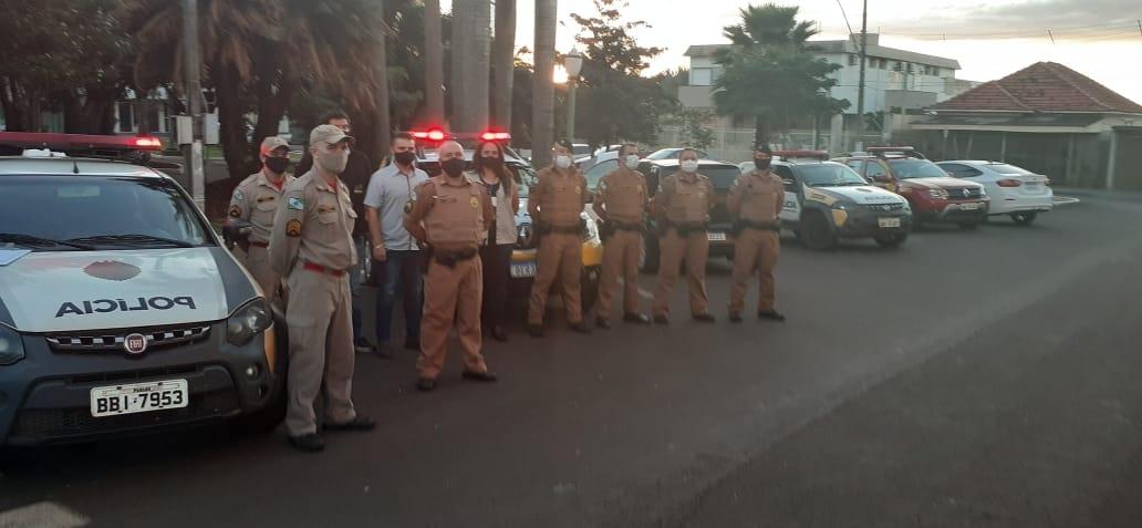 Polícia Militar coordena a Operação AIFU em Andirá