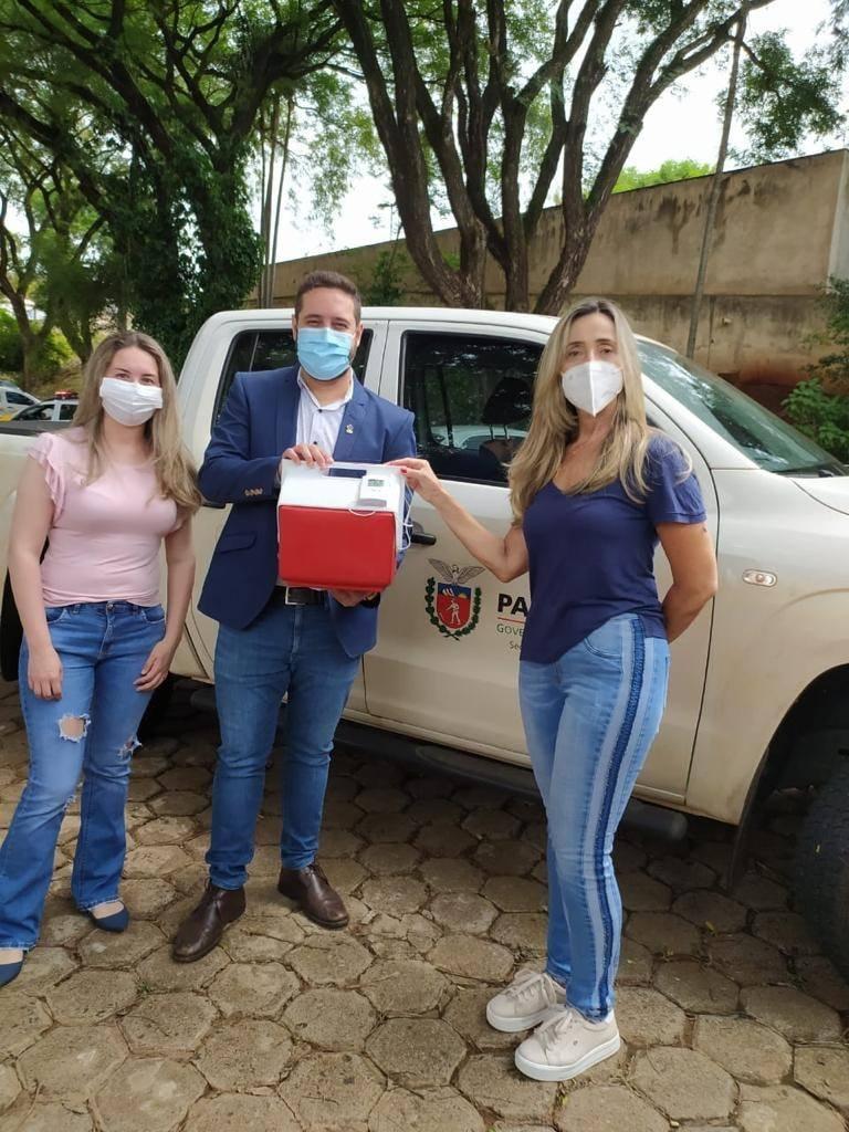 Andirá recebe vacinas contra o Covid-19
