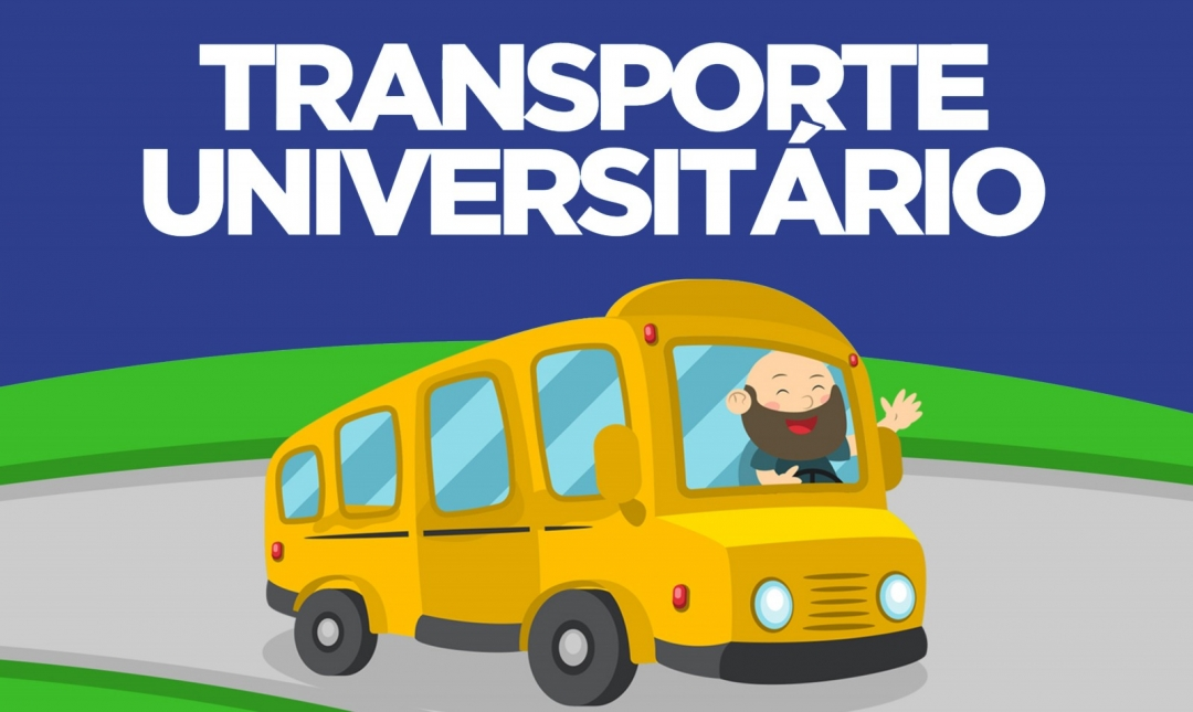 Datas para o Cadastramento de alunos para o Transporte Universitário