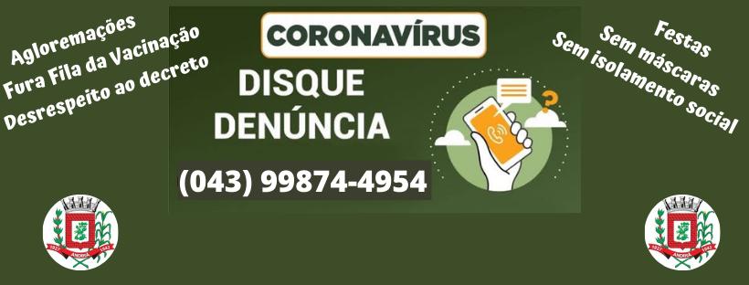Disque Denúncia Covid - 19