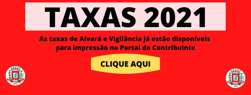 Taxas de Alvará e Vigilância 2021