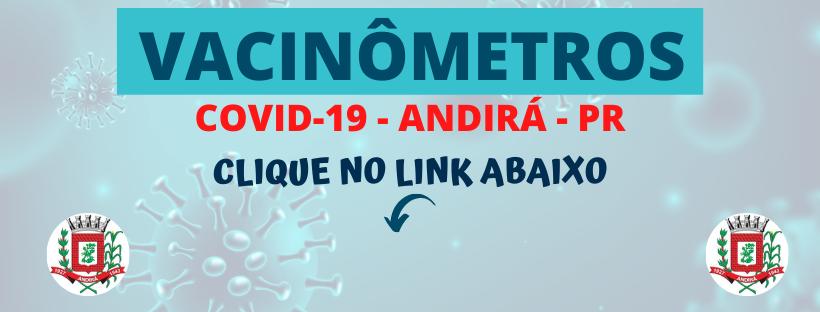 CLIQUE AQUI - VACINÔMETROS