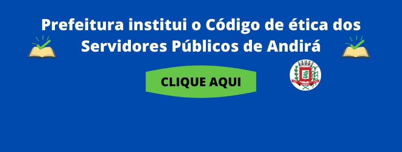Código de Ética dos Servidores Públicos de Andirá