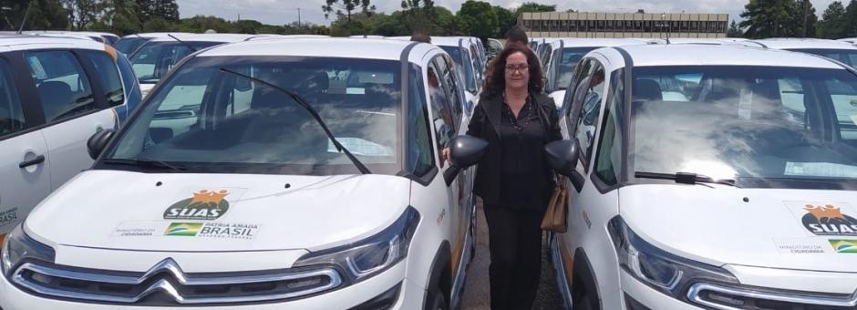 Andirá recebe mais dois carros para a Assistência Social